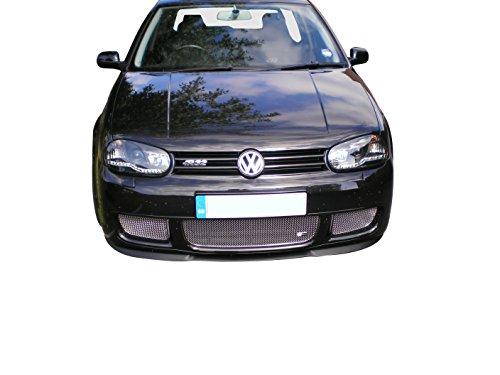 Zunsport Kompatibel mit VW Golf Mark IV R32 – unterer Grillsatz, silbern (1998 bis 2004)