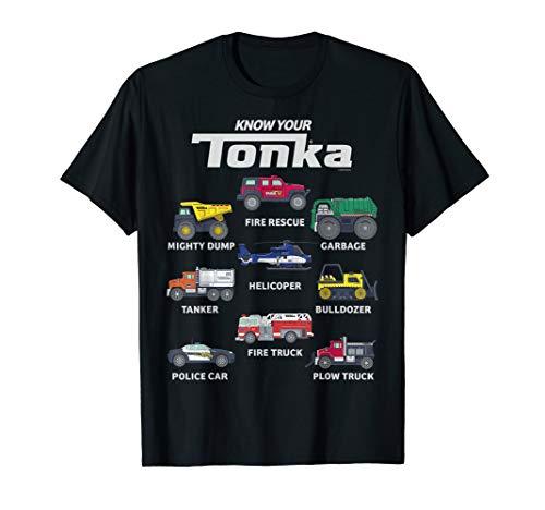 Tonka Know Your Tonka Trucks T-Shirt