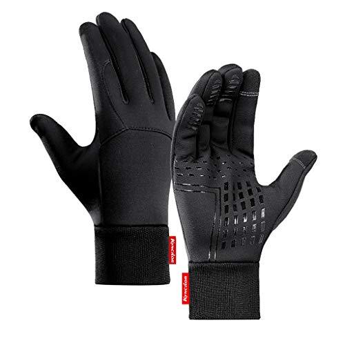 HSKB Winter Warm Handschuhe, Winterhandschuhe Batterie Beheizt Skihandschuhe für Herren Damen Reiten Laufen Skifahren Wandern Radfahren Motorrad Handschuh (M)