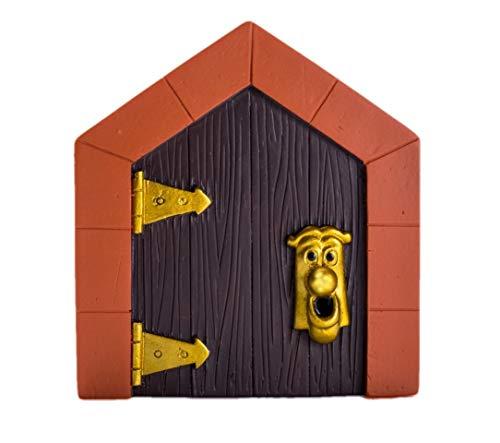 Mini-Tür Alice im Wunderland Dekoration Kunstharz Raumdekoration Partyzubehör