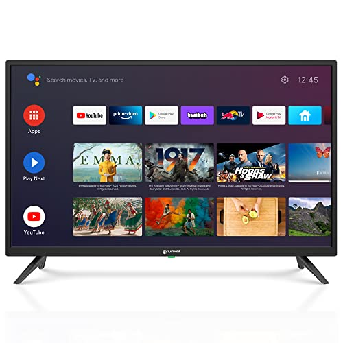 Grunkel - LED-3221GOO - Televisor de 81 centímetros con Google Chromecast. con Pantalla de Panel HD Ready, Wi-Fi y Smart TV. De bajo Consumo y con Sistema de Auto-Apagado - 32 Pulgadas – Negro