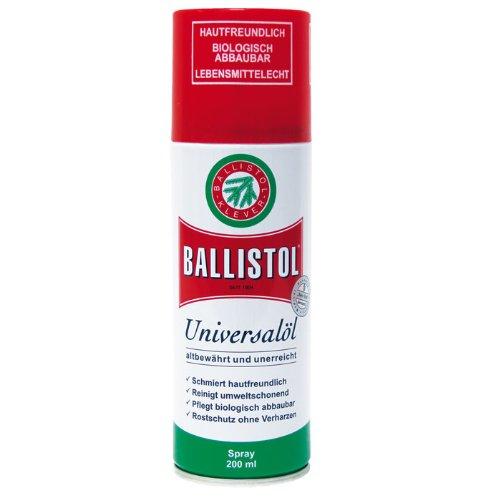 BALLISTOL contiene sostanze in grado di trattenere l'ossigeno, i cosiddetti antiossidanti, sotto forma di sostanze naturali, che per molti anni impediscono l'attacco ossidante. Grazie alla sua speciale formulazione, BALLISTOL per natura non può resin...