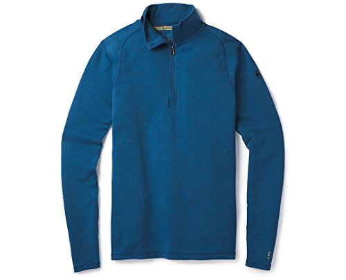 Smartwool Men's Merino 250 Baselayer 1/4 Zip Bright Cobalt Heather XX-Large