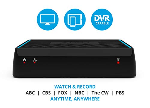 Sling Media AirTV | Dual-tuner Local Channel Streamer for TVs and Mobile Devices | DVR Capable | Built for Sling TV | Bonus $25 Sling TV Credit