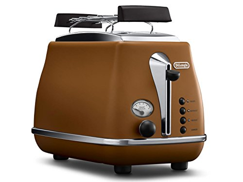 Delonghi CTOV2103-BW Icona Vintage Toaster 220-240 Volts 50Hz Export Only