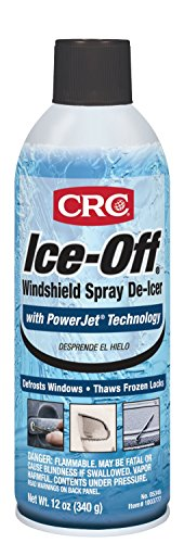 CRC Ice-Off Windshield Spray De-Icer, 12 Wt Oz, 05346