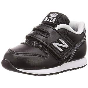 [ニューバランス] ベビーシューズ IV996 / IZ996(現行モデル) 12~16.5cm 運動靴 通学履き 男の子 女の子 35_ブラック 15.5 cm