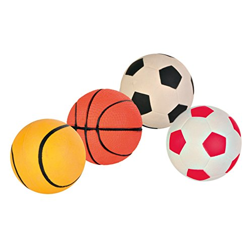 Trixie Hundespielzeug, weich, Gummi, schwimmend, Durchmesser 9 cm