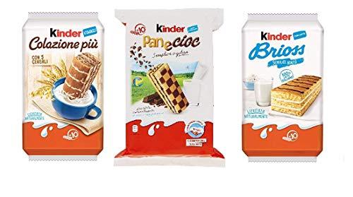 Testpaket Kinder Ferrero Brioss Colazione più Panecioc brioche snack 30 x 27gr
