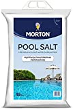 EasyGoProducts Spas – 40 Pounds Morton Pool Salt – High Purity & Fast Dissolving Chlorine Generator, White
