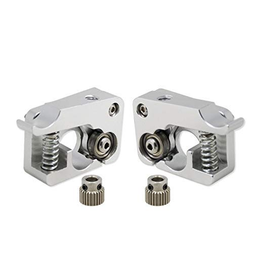 MK10 Remote Direct Extruder Aluminum Part J-Head Extrusion Right Left Hand Arm Full Metal Bowden 3D Printers Parts Aluminium 3D Printing Accessories (Size : Left) (Size : Right)