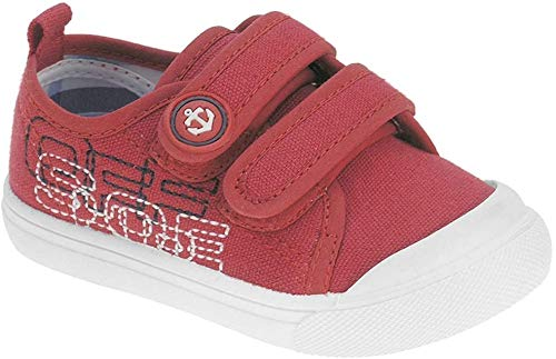 Beppi Unisex Baby Zapatos Sneaker, Rot, 24 EU