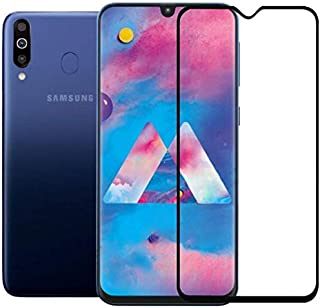 Tempered Glass Screen Protector For Samsung Galaxy M30 - Black
