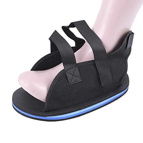 Postoperative Recovery Walking Gypsum Shoe Foot Fracture Surgical Open Toe Plaster Cast Shoe Ankle Brace Sprain Fixation Stability Shoe Cover Toe Separators Protectors