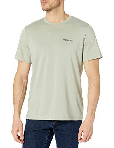 Columbia Men's Thistletown Ridge Crew Shirt, Safari, 4X