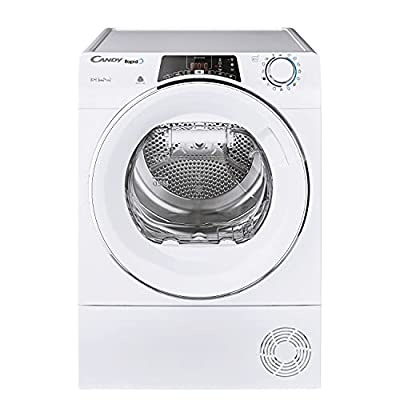 Candy Rapido ROE H10A2TCE-80 Freestanding 10Kg Heatpump WIFI Tumble Dryer, White