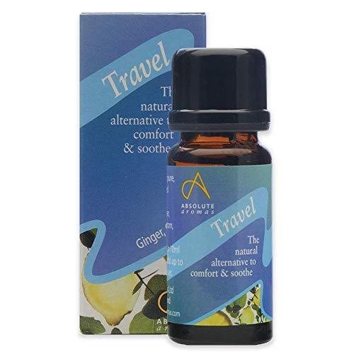 Absolute Aromas Travel 10 ml avec huiles essentielles de gingembre, carvin, pamplemousse et lavande – L'alternative naturelle au confort et à l'apaiser.