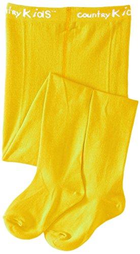 Coup d'envoi Luxury Warm Winter Tights Medias, Yellow (Marigold), 3-5 años para Niñas
