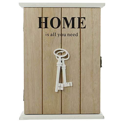 SIDCO Schlüsselkasten Schlüsselbox Holz Schlüsselschrank Schlüsselbrett Schlüsselbord