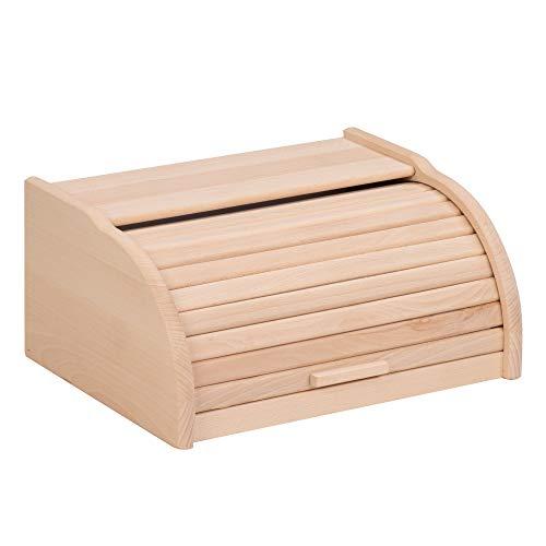 duston Perfekte Brot-Box für Brot, Brötchen und Kuchen, Brotkästen, Küchen Brot Box, Brotbehälter, Rollbrotkasten, Brotkasten mit Rollverschluss