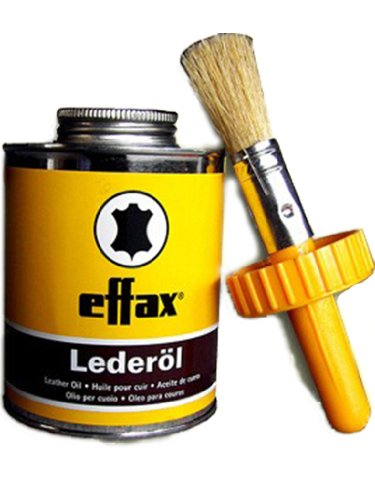 William Hunter Effax Leder-Öl, Dose mit Pinsel 475ml Lederpflege