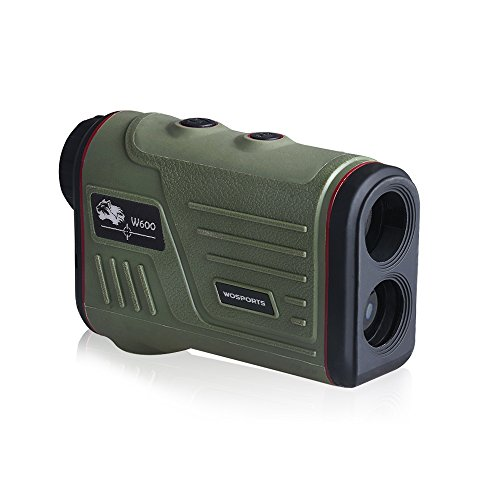 Laser Rangefinder for Hunting and Golf, 700 Yards 6X 25mm Range finder with Speed, Scan and Fog measurement (700 Yards)
