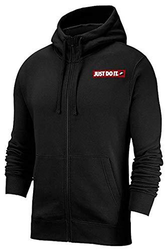 Nike M NSW JDI Hoodie FZ FLC BSTR - S