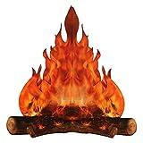 lencyotool Artificial Llama Falsa Fuego Papel Llama Falsa Papel De Llama Falsa De Fuego Centro Decoración Llama Artificial Adorno De Papel De Llama Falsa para Decoración Fiesta Fogata