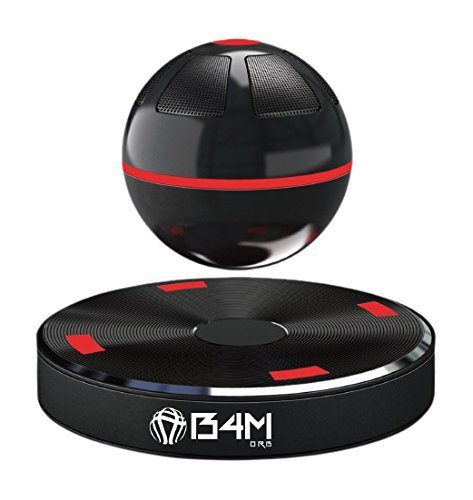 B4M ORB-Dark Black Portable Wireless Bluetooth 4.1 Floating Sound Levitating Maglev Speaker (NFC)