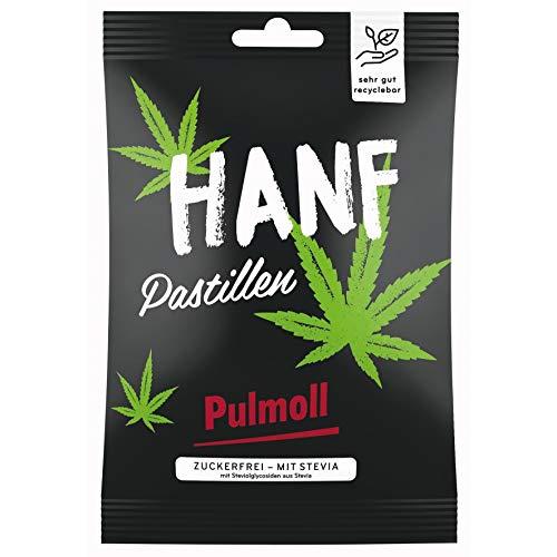 Pulmoll Beutel Hanf Pastillen zuckerfrei, Bonbon Pul Moll
