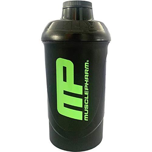 MusclePharm Protein Shaker Bottle Mixer Blender Cup Water 600ml-700ml for Gym Shakes Shake