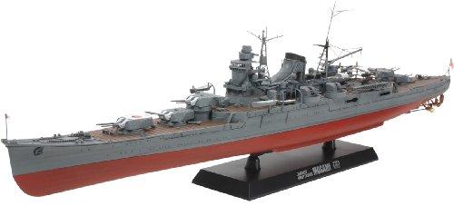 Tamiya 78023 - Maqueta de crucero japonés Mogami - escala 1/350
