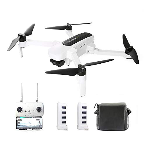 Goolsky Hubsan H117S Zino RC Drone GPS 5G WiFi FPV 4K UHD Camera 3 Assi...