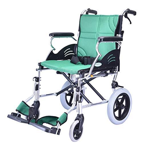 Rollstuhl Aluminiumrollstuhl, Klappbarer Leichter Selbstfahrender, Manueller, Transport