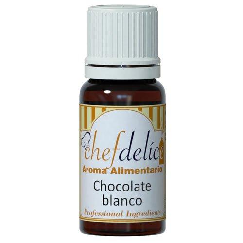 Chefdelice Chefdelice Aroma Concentrado Para Glaseados, Helados, Horneados Y Cremas Sabor Chocolate Blanco, 10Ml Chefdelice 21 g