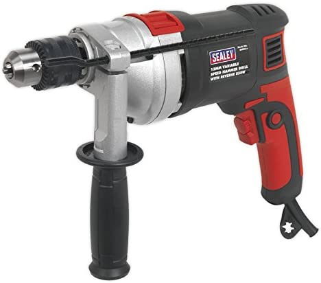 Sealey 高級な SD800 Hammer Drill 当店一番人気 13mm Reverse Speed 850W with Variable