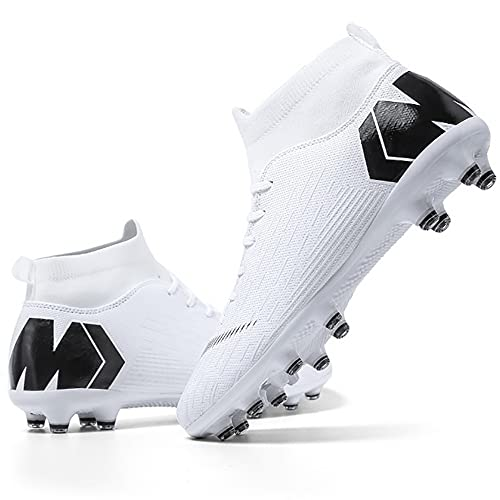 Niber Soccer Shoe Cleats Professional Long Studs Wear Resistant Football Training Athletic Soccer Shoes for Youth