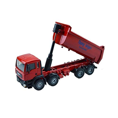 hongshen Modellautotechnik LKW-Modell-Kipper-Dumping Big Truck Spielzeug-Legierung Auto-Modell 01.50 Gegoßenes...