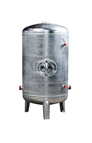 Druckbehälter 100 150 200 300 500 L 6 bar senkrecht verzinkt Druckkessel für Hauswasserwerk senkrecht stehend (300L)