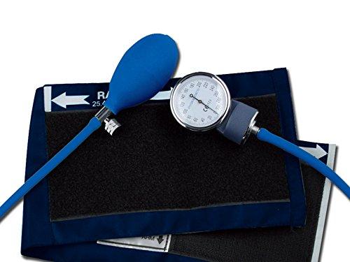 Gima 32704 YTON - Esfigmomanómetros, sin látex, color azul