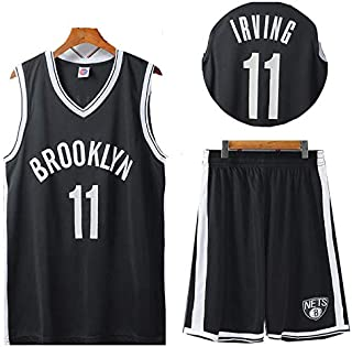 ZHYIYI Kids Basketball Jersey Hot Press Process Health and Environmental Protection Vest and Shorts Set Sleeveless For Boy...