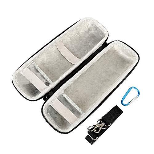 ETbotu Aufbewahrungstasche Umhängetasche für JBL Flip 5 Bluetooth-Lautsprecher graues Futter [superweich]