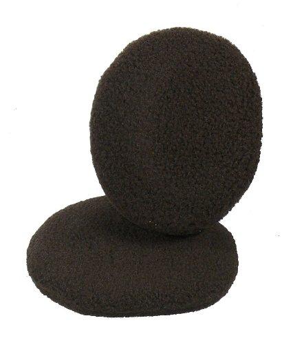 Earbags Fleece Ohrwärmer Mütze war gestern Standard Ohren Schützer, earbags fleece, Farbe braun, Größe L