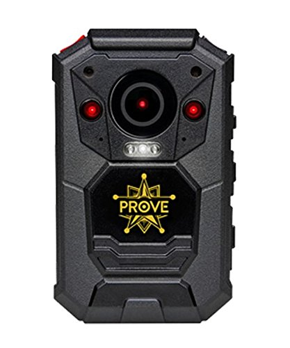Prove Tech X-01 1296p HD Body Worn Camera, 16GB Storage Night Vision...