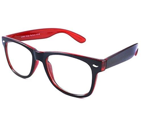 Lesebrille +1,5 +2,5 Klee 4sold (rot schwarz, 1,5x)