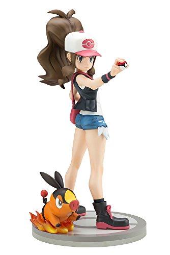 Kotobukiya ARTFX J Pokemon Series Hilda Ludvina Liza Lotta with Tepig