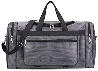 Large Capacity Fashion Travel Bag for Man Leisure Travel Fitness Handbag Nylon Portable Travel Bag XA190K (Color : Dark Gray, Size : -)