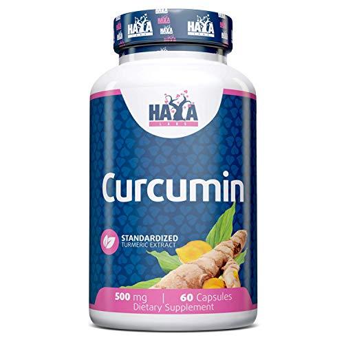 Haya Labs Curcumin Turmeric Extract 500mg 60 Capsules