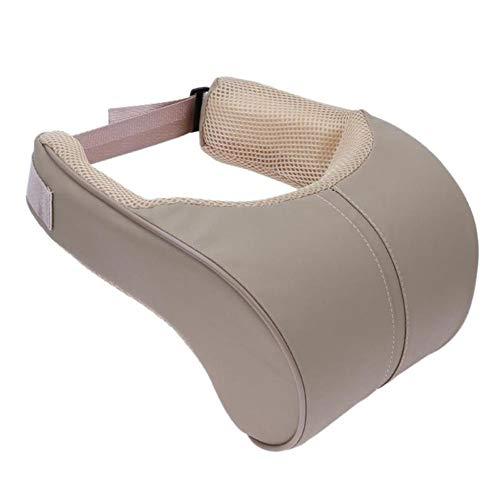 HJPOQZ Reposacabezas ergonómico para la Cabeza del Coche, cojín para el Descanso del Cuello, cojín para el Cuello de Viaje, Soporte para el Asiento, Almohada para el Asiento