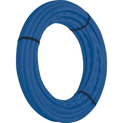SharkBite U870B100 PEX Pipe 3/4 Inch, Flexible Water Tube, Pot, BLUE